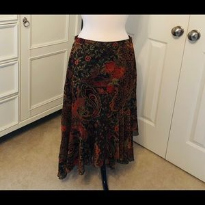 Flowing Skirt with Layers